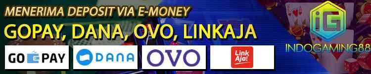 Deposit Indogaming e-money